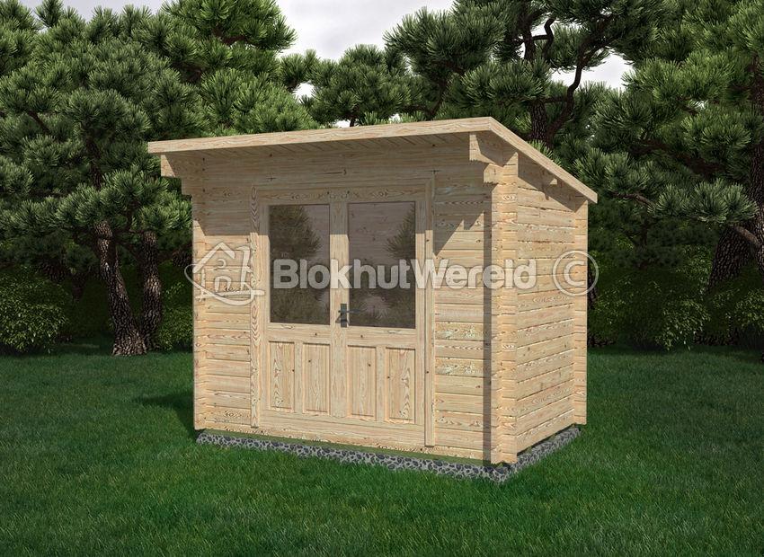 Wonderbaar Tuinhuis Zeist 3x2,5m 28mm | tuinhuis.com UA-31